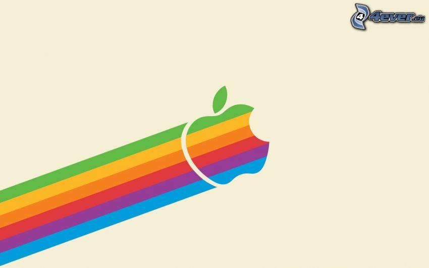 Apple, szivárvány