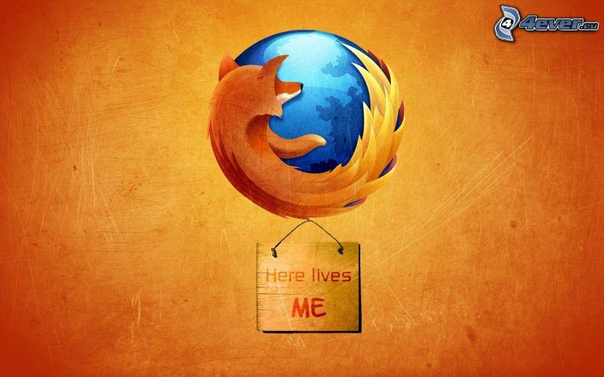 Firefox, tábla