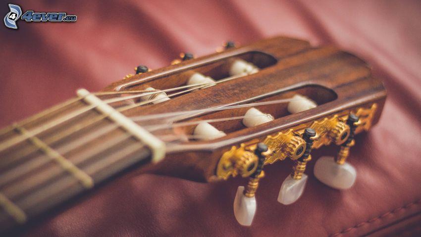 gitárfej