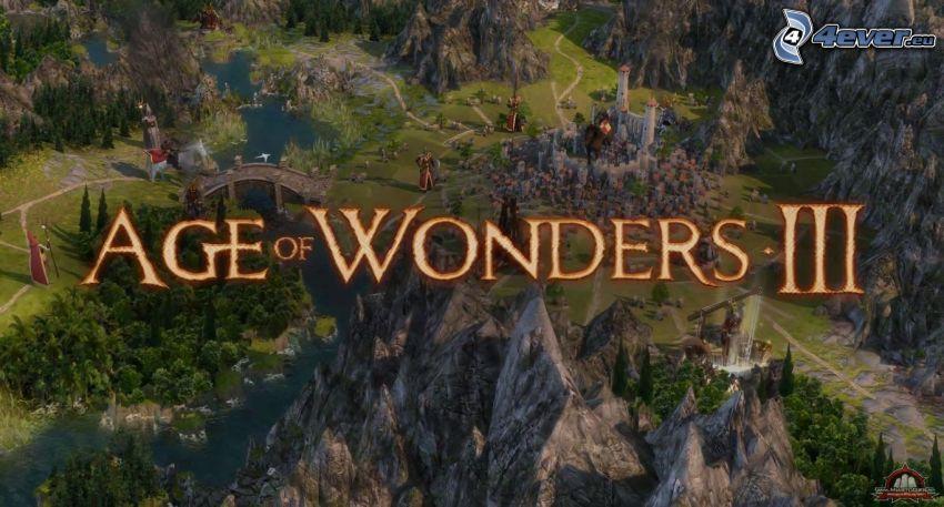 Age of Wonders, sziklák