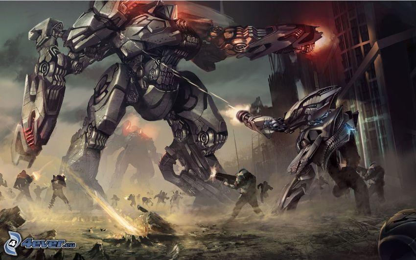 PC játék, robotok