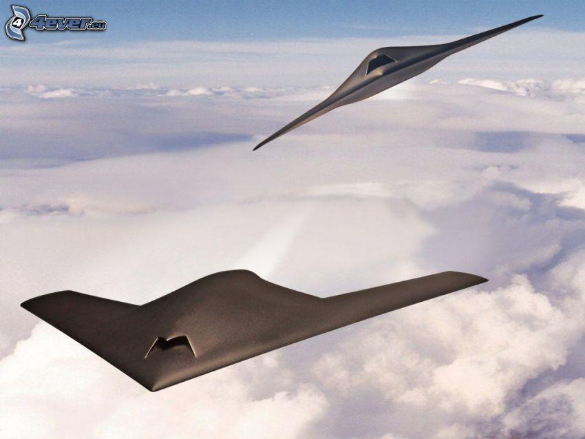 Dassault nEUROn, vadászrepülőgépek