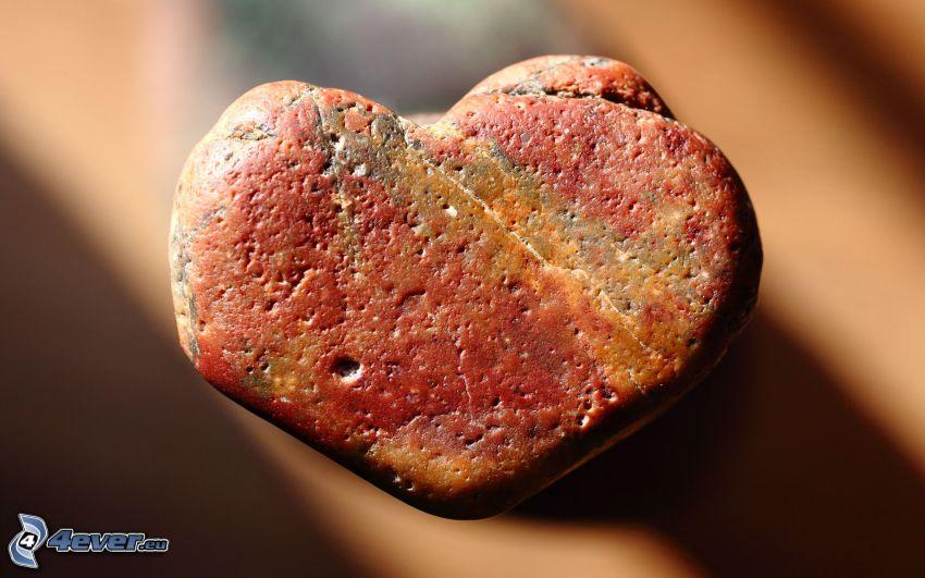 szivecske, kő