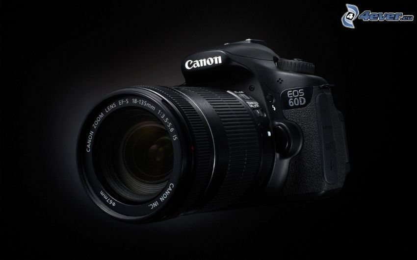 Canon EOS 60D, fényképezőgép
