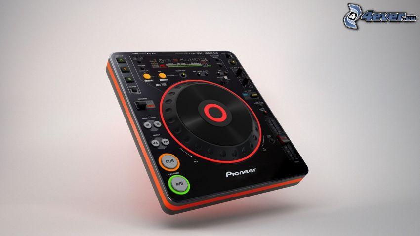 Pioneer, DJ pult