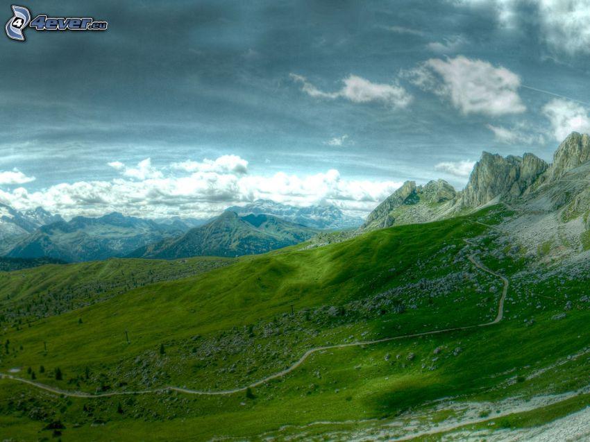 sziklás hegység
