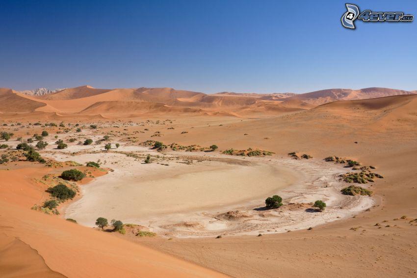 Sossusvlei, homokdűnék