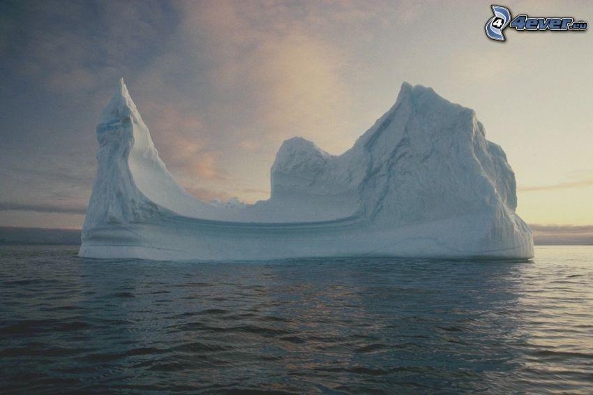 gleccser, Jeges-tenger