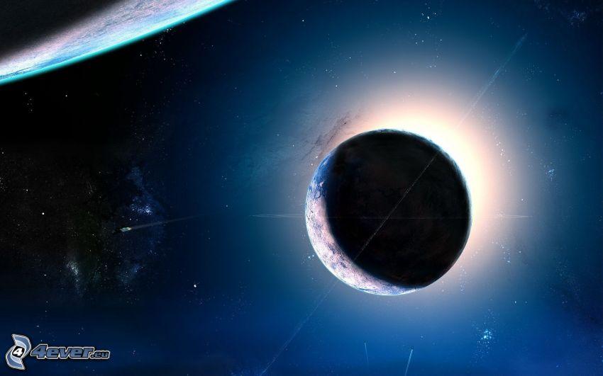 bolygók, napfogyatkozás