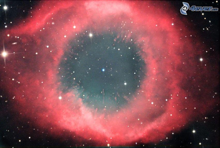 Csiga-köd, csillagok
