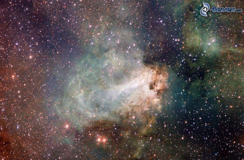 ködfátylak, csillagok