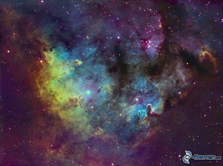 ködfátyol, csillagok