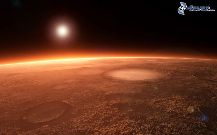 Mars, vörös bolygó, nap