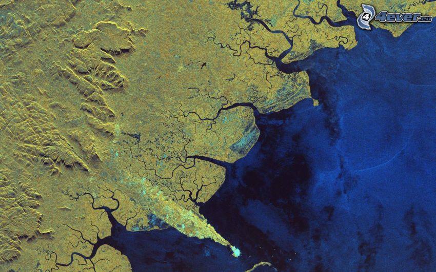műholdas képek