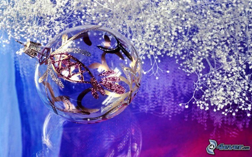 gömb karácsonyfadísz