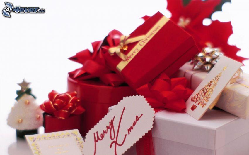 Merry Christmas, ajándékok