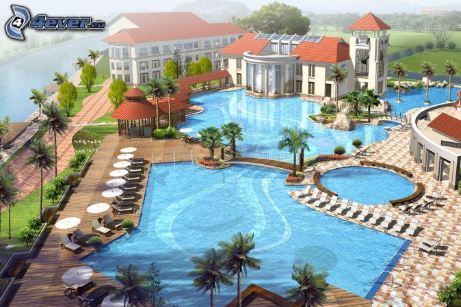 Luksus for Hoteles de lujo modernos