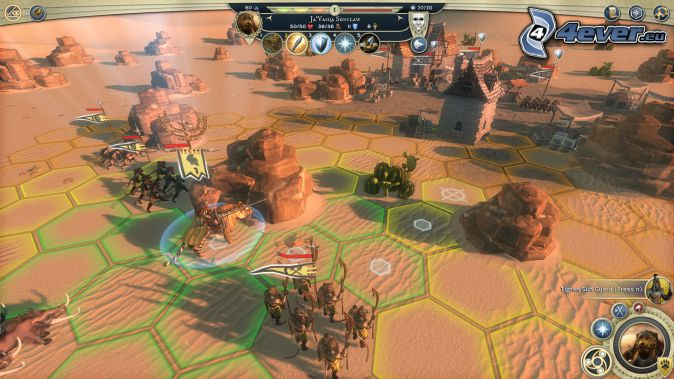 Age of Wonders, krajobraz sci-fi