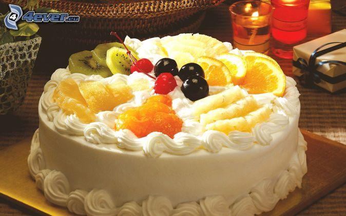 Красивые праздничные торты фото