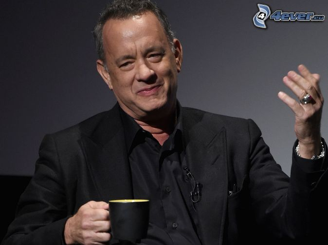 Tom Hanks, filiżanka