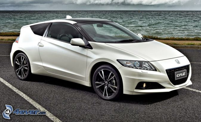 Honda CR-Z, morze otwarte