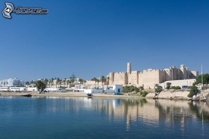 Tunezja, budowle, wybrzeże