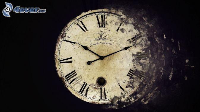 zabytkowy zegarek