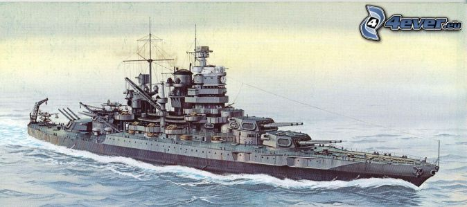USS Idaho, rysowane