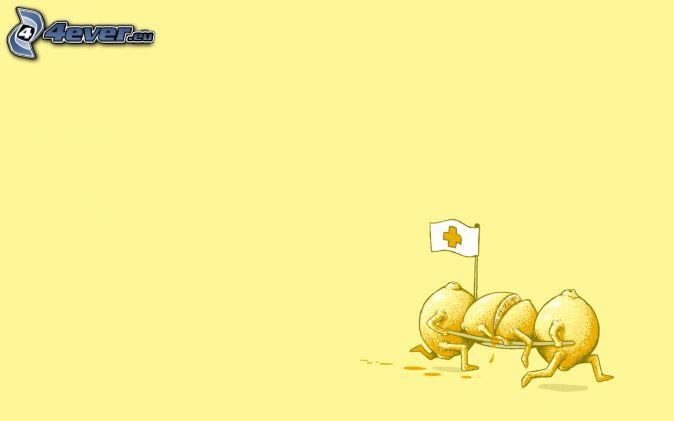 cytryny, ratownik