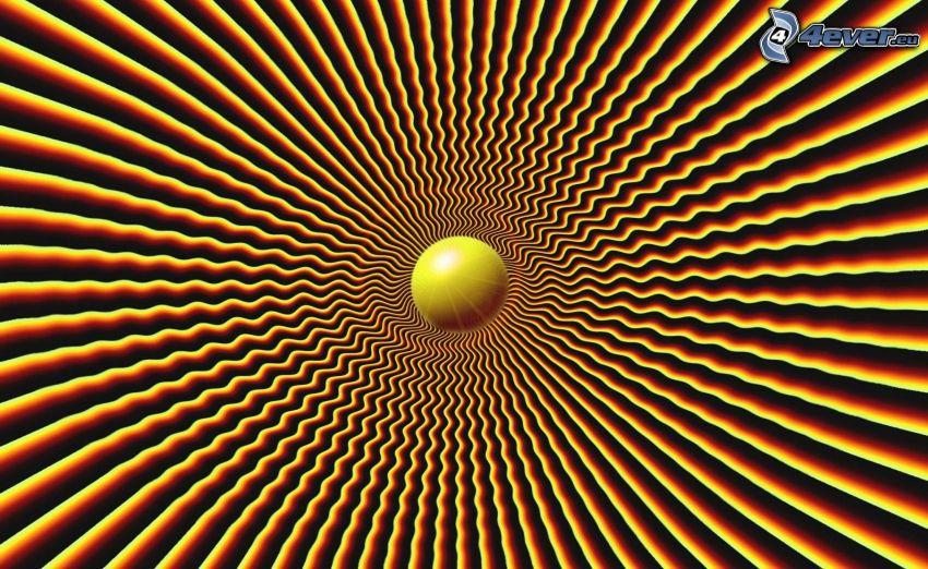 abstrakcyjna kula