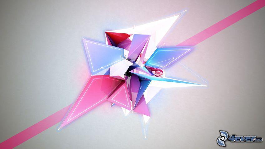 abstrakcyjne kształty