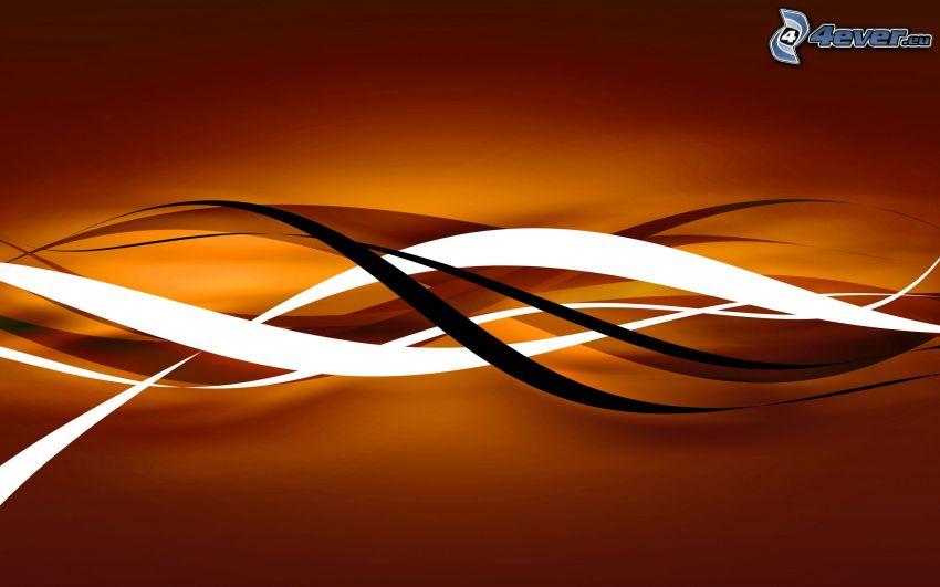 abstrakcyjne linie