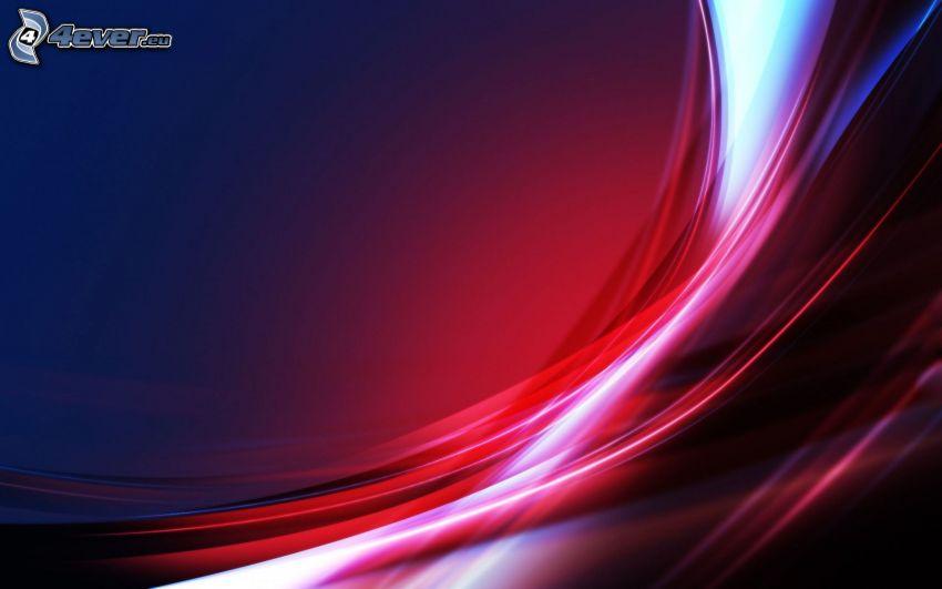 abstrakcyjne linie kolorystyczne