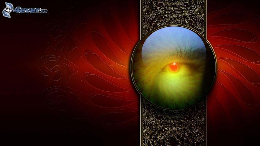abstrakcyjne oko