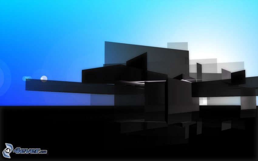 abstrakcyjne prostokąty