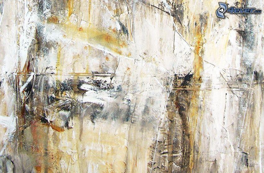 abstrakcyjne tło, kleksy