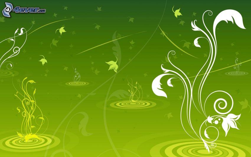 abstrakcyjne tło, zielone tło