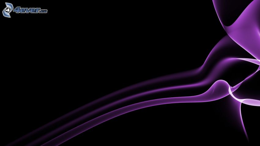 fioletowe linie