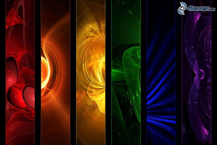 kolorowe obrazy