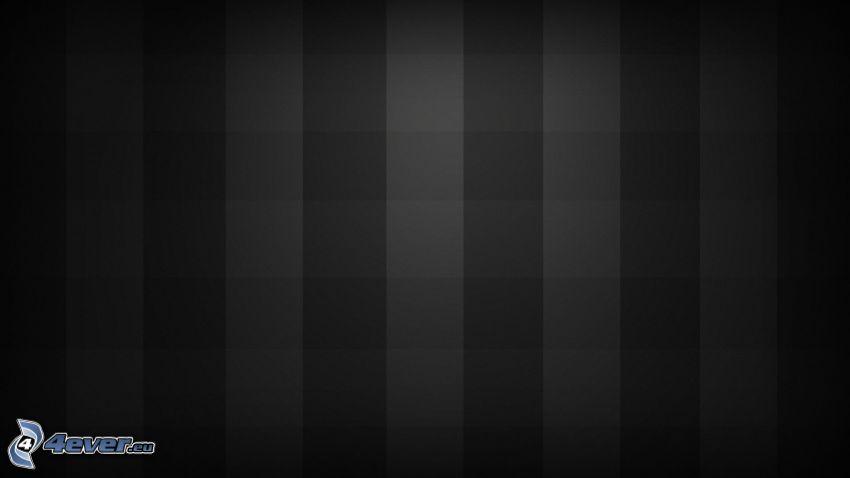 kwadraty, czarne tło