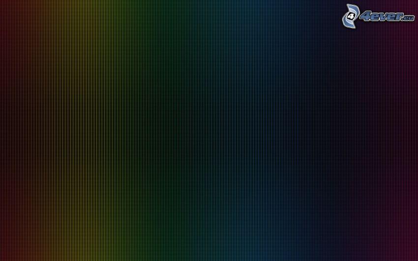 linie, kolory tęczy