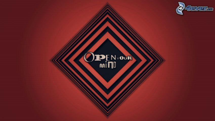 Open your mind, kwadraty