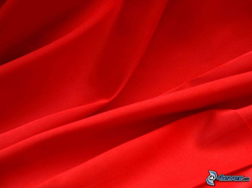 płótno, czerwony
