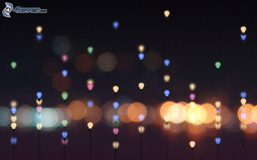 światełka
