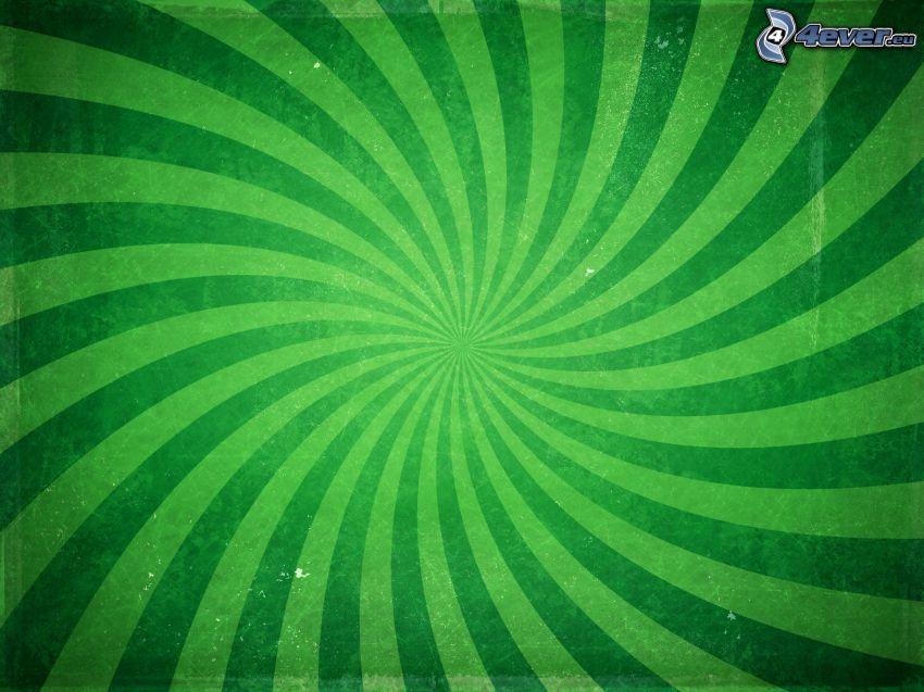 zielone pasy, zielone tło