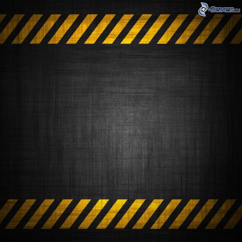 żółte linie