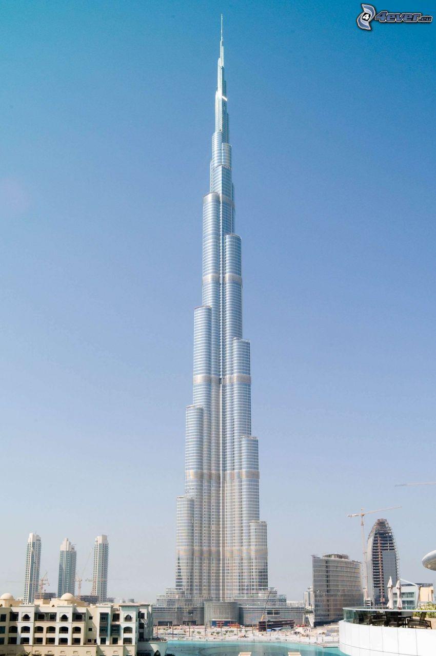 Burj Khalifa, Dubaj, Emiraty Arabskie, najwyższy budynek świata