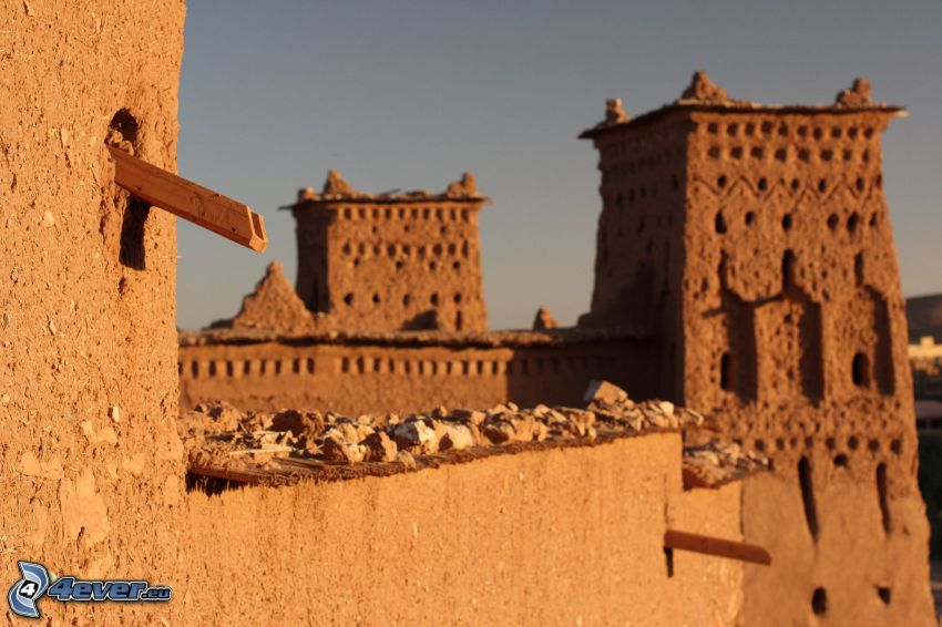Ait Benhaddou, wieża