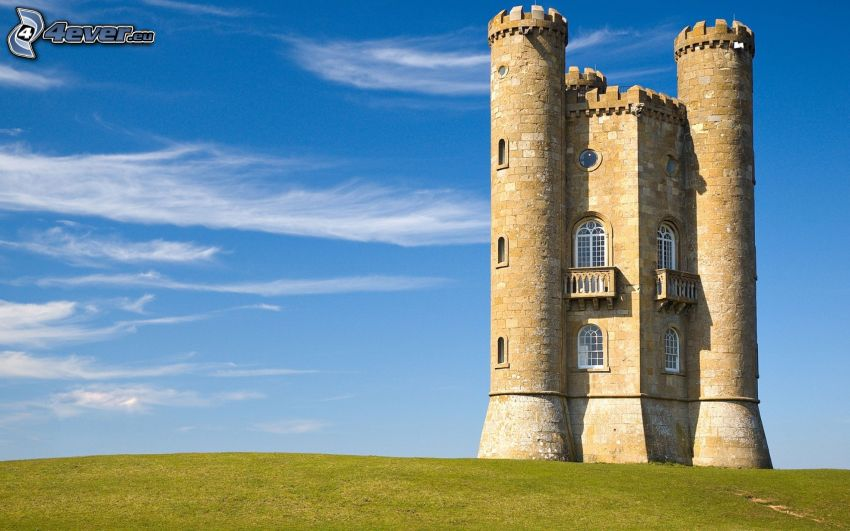 Broadway Tower, niebo