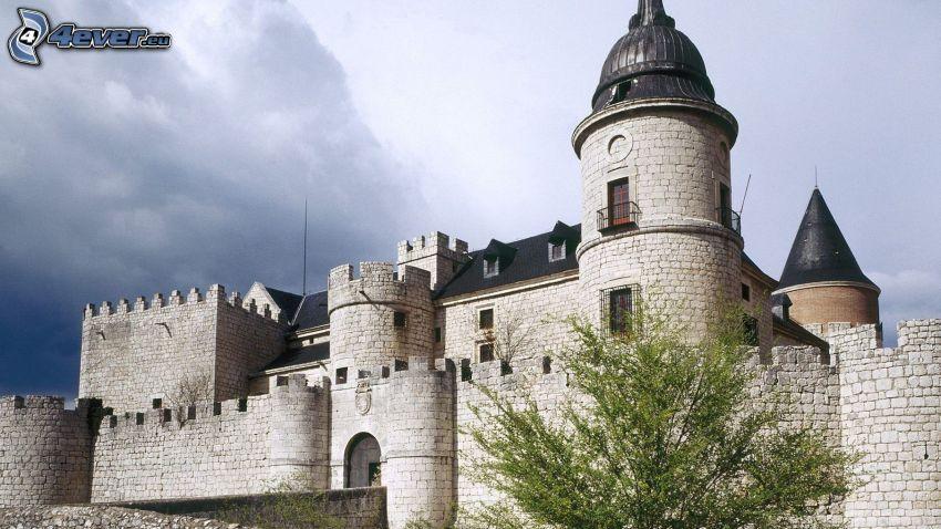 castle Simancas, zamek, León, Hiszpania